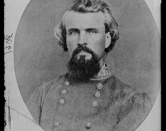 Confederate General, Nathan Bedford Forrest, Civil War,  Photo Print