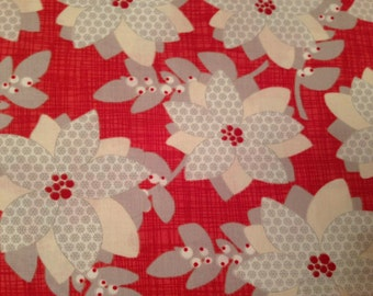 Moda Christmas fabric by the yard - Moda Winterberry fabric - #16062