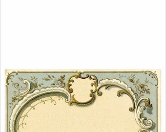 Vintage Note Cards - A4 Size