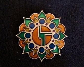 Disco Biscuits Mandala Limited Edition Pin