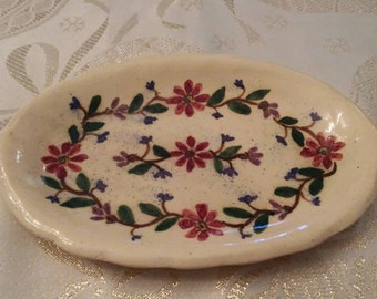 Dover Pottery Tiny Platter - Handmade pottery from Seagrove, NC