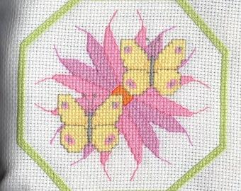 Flower's & Butterflies