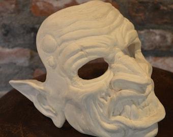 Goblin Veteran Mask Blank