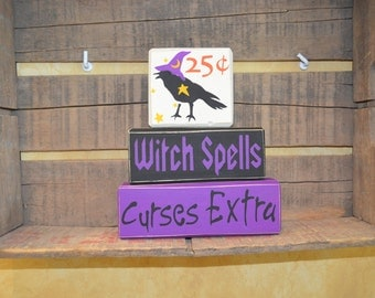 Witch Spells Curses Extra Stacking Blocks