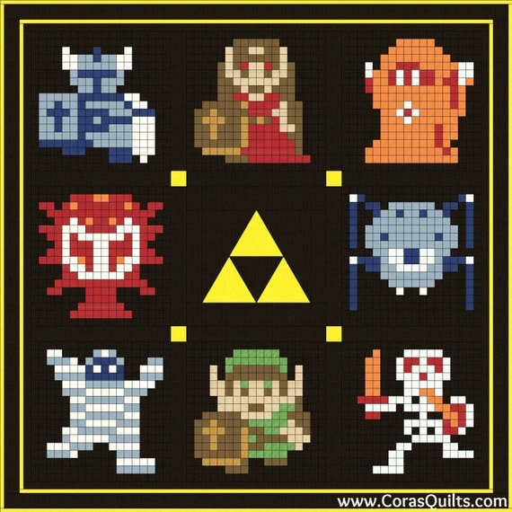 Legend of Zelda Full Quilt Kit