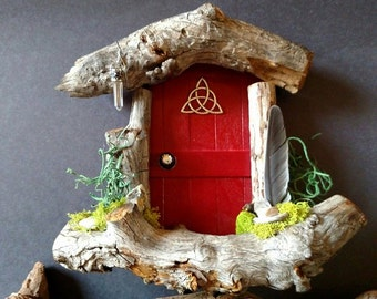 Celtic Knot Triangle Sedona Fairy Door Made to Order