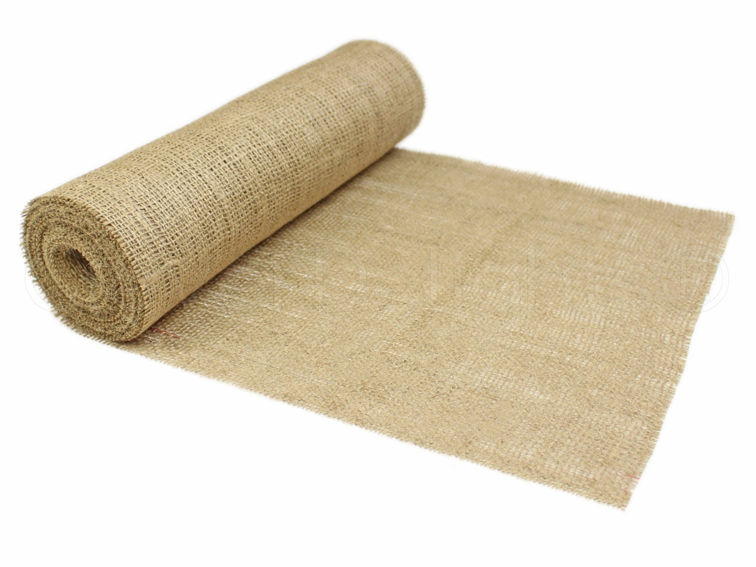 10 yards 14 burlap roll unfinished edges eco for 10 minute table runner 30 minute tote bag
