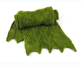 Phoebe Lace Knitted Scarf