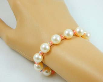 Swarovski Stretch Bracelet/Swarovski Pearl Bracelet/Stretch Bracelets/Swarovski Online/Swarovski Online Shop/Online Jewelry Stores