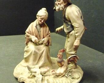 Final Clearance - Antonio Borsato Porcelain Figure # 515B, Golden Years