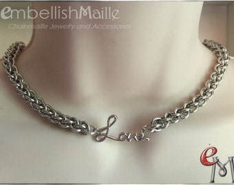 Discrete submissive Collar, Discrete Day Collar, Slave Collar, Love Collar, Forever Collar, Discrete BDSM Collar Discrete submissive jewelry