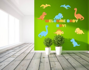 Dinosaur Baby Shower Decorations   Baby Boy Shower Decorations   Dinosaur  Baby Shower Decor   Dinosaur