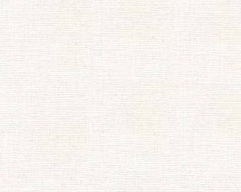 Roclon - 86552 Weavers Cloth for Punchneedle  - White - PolyCotton - By the Yard