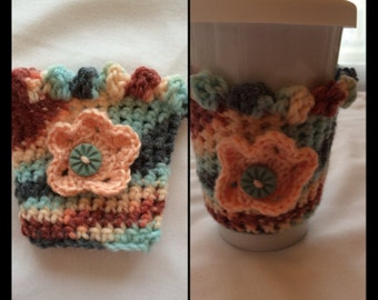 Crocheted Cup Cozy