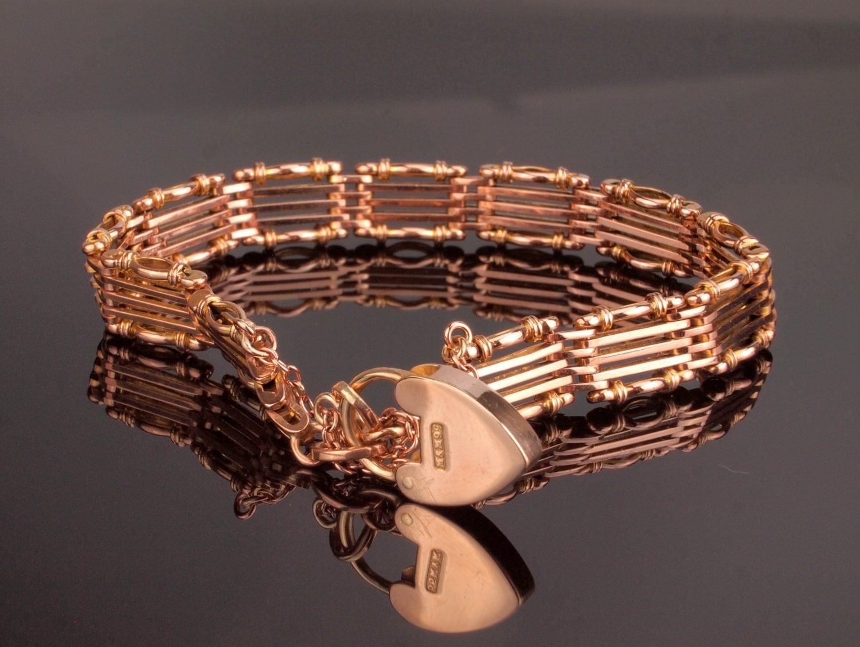 Argent Vintage Perles Rose Bracelet Pour Les Femmes