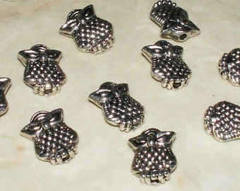 Cute Owl Spacer Beads 10x7MM