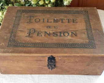 Antique French box