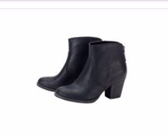 Monogrammed ankle  boots!!!