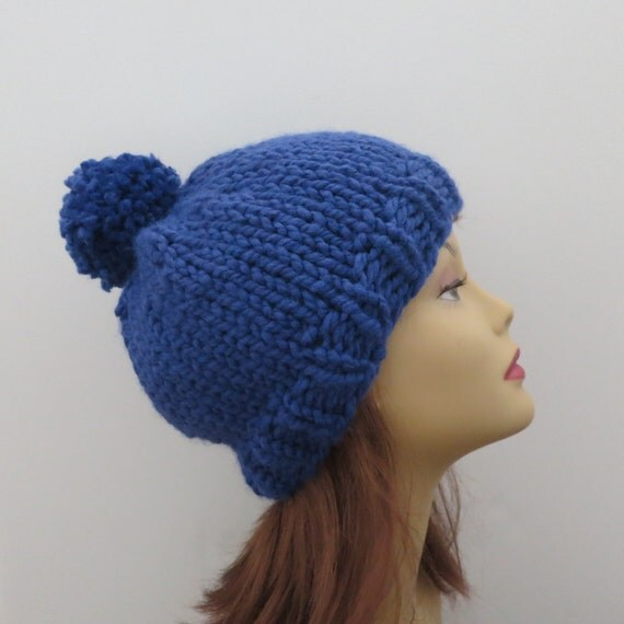 Knitting Patterns For Beginners Beanie : Knitting Pattern The Aspen Hat for Beginners in Super Bulky