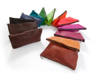 Culture leather pencil cases