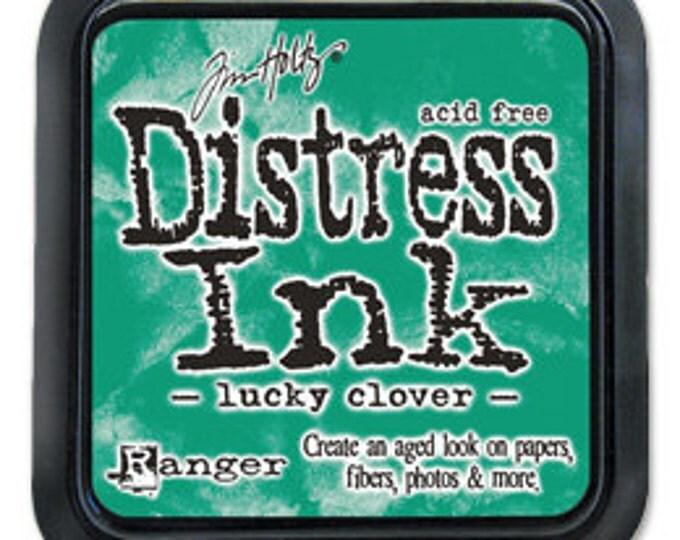 Tim Holtz Green 3x3 Distress Ink Pad - Lucky Clover - November 2015