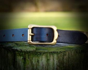Men's Belt English Leather Belt