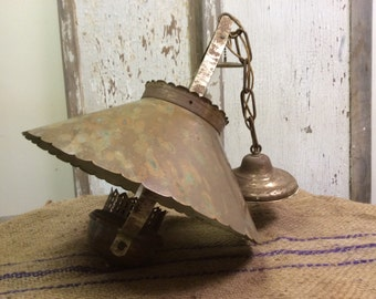 Vintage Brass Pentant Ceiling Light