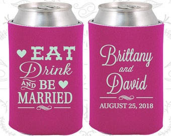 Raspberry Wedding, Can Coolers, Raspberry Wedding Favors, Raspberry Wedding Gift, Raspberry Party Favors (30)