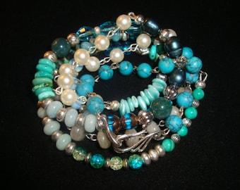 boho wrap bracelet-necklace
