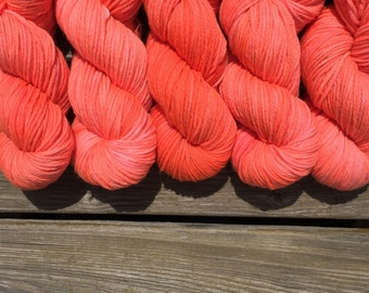 NEW* Worsted base (Regar): Electric Watermelon