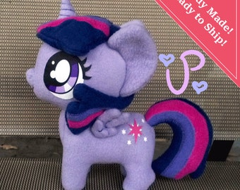 Princess Twilight Sparkle Chibi MLP Plush 9 Inches