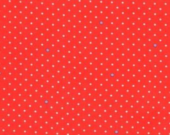 Michael Miller Fabrics - Pin Dot Coral - CR6037-CORA-D