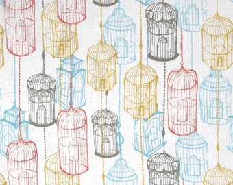 Blend Fabrics - Birdcage White -  Cushion & Dust Collection - 110.102.04.2