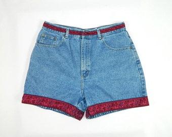 Vintage Denim High Waist Shorts