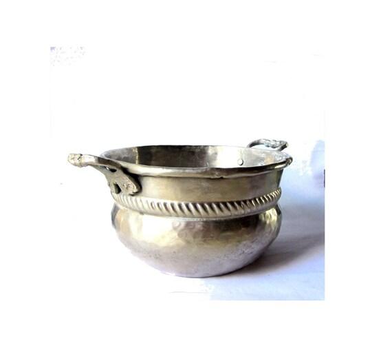 Silver Home Decor. Small Bowl. Decorative Bowl. Silver Bowl