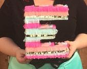 Piñata Letters - Fiesta decoration - Photo Prop - Table Decoration
