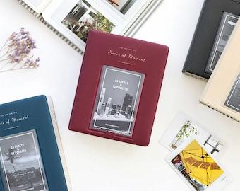 MINI ALBUM V.3 - mini size photo album, name card, cards holder / 10IC185