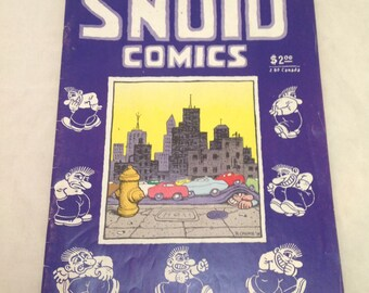 Snoid Comics Robert R Crumb Underground Comix 1986, X-Rated, Adult Comic, 2nd Printing