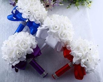 Bridesmaids bouquet set of 6