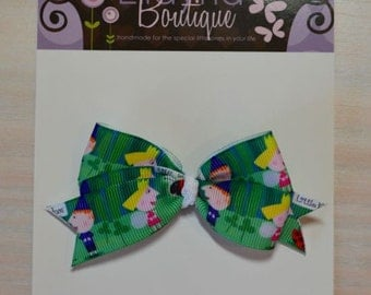 Boutique Style Hair Bow - Ben and Holly's Little Kingdom
