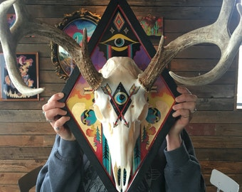 Mind over Matter || Mounted Deer Skull