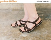 SALE 20% OFF: Brown Leather Sandals, Women Sandals, Summer Shoes, Handmade Leather Sandals, Brown Sandals