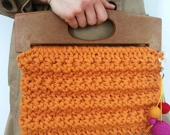 Chunky Crochet Clutch