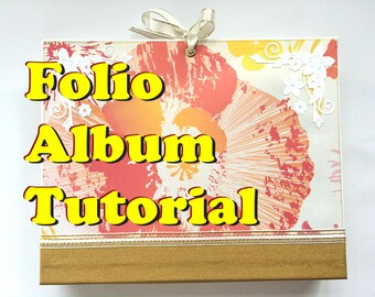 Tutorial #16: Removable Folio Album 'Mimosa'