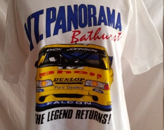 Nineties Mount Panorama cotton t shirt size XL/chest 120cm  Made in Australia