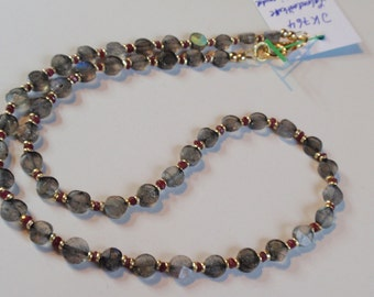 Labradorite  Necklace   (JK 764)