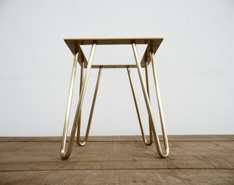 28 3 Pin Nuts Table Legs Brass Height 26 To