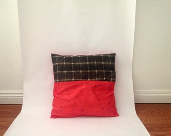 PINK Day SALE! Medium Smoothie Printed Pillow Sham - Ready to Ship