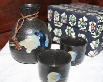 Ceramic Japanese Sake Set