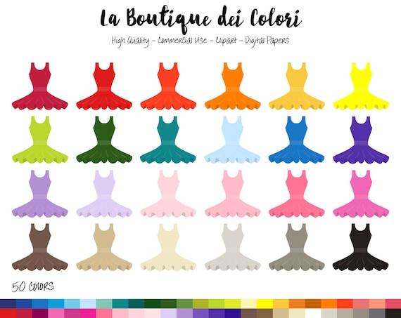 50 ballerina dress clipart digital illustrations png dance il570xn sciox Choice Image